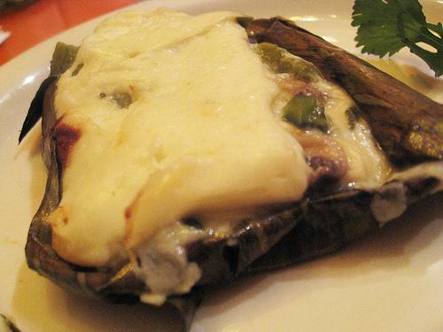 Aztec Cheese at LA Casita Mexicana