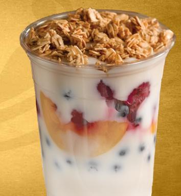 Yogurt Parfait at Einstein Bros. Bagels