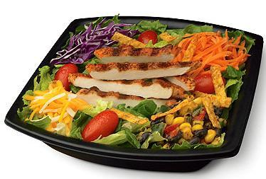 Southwest Chargrilled Salad at Chick-fil-A