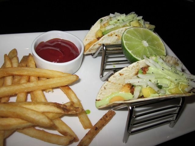 Achiote Fish Tacos at Devon Seafood + Steak