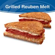 Grilled Reuben Melt at Culver's