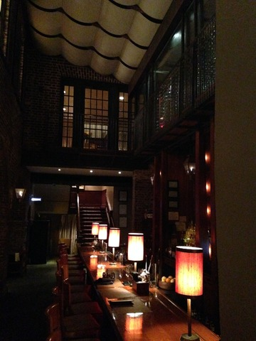 View of the Chic and Inviting Lounge From the Main Entrance - Interior at McCrady's