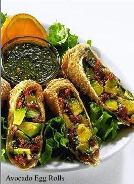 Avocado Eggrolls at The Cheesecake Factory