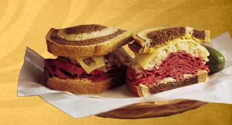 Reuben Pastrami or Turkey at Einstein Bros. Bagels