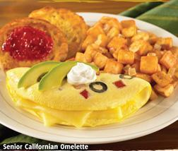 Californian Omelete at Carrows