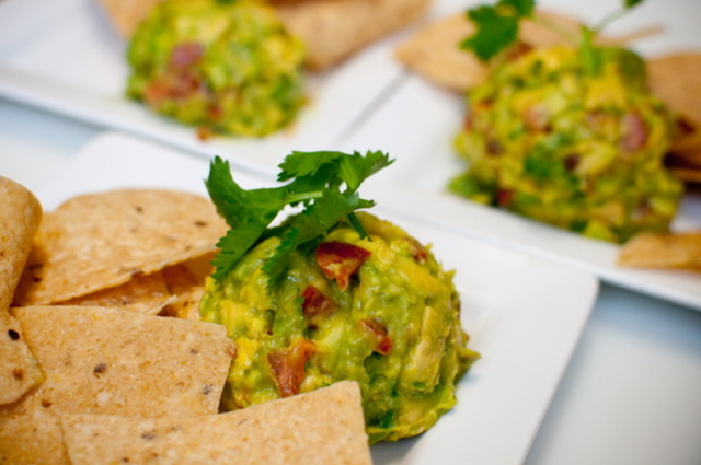 The best Guacamole in San Diego, made with fresh California Grown Avocados! - Guacamole & Tortilla Chips at California Avocado Grill