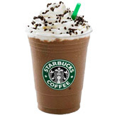 Iced Peppermint Mocha Twist at Starbucks Coffee