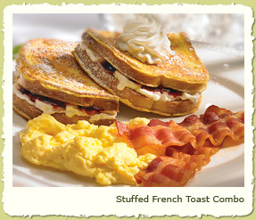 NEW STUFFED FRENCH TOAST COMBO at Coco's