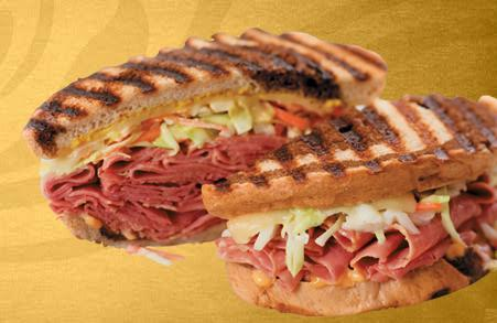 Rachel Pastrami or Turkey at Einstein Bros. Bagels
