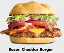 Bacon Cheddar Burger at Buffalo Wild Wings
