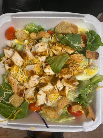 Grilled Chicken Salad at McFarland's Cafe de Cajun