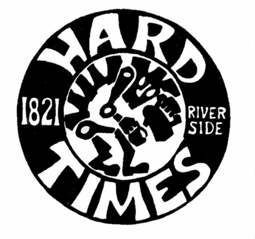 Logo at Hard Times Cafe