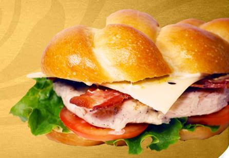 Chicken, Bacon & Swiss at Einstein Bros. Bagels
