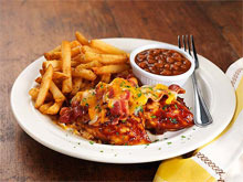 Smothered BBQ Chicken at Bugaboo Creek Steak House