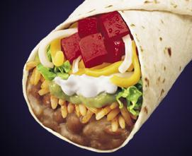 7-LAYER BURRITO at Taco Bell
