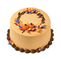 Colors of Fall Wreath Cake at Dunkin' Donuts/Baskin Robbins