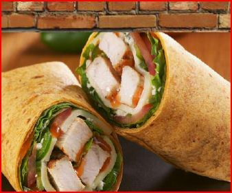 Wraps at Grillicious Cafe