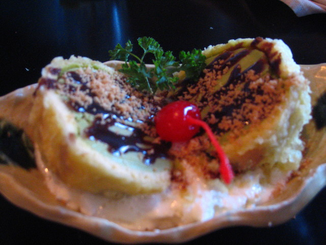 Tempura Ice Cream at Edo Sushi