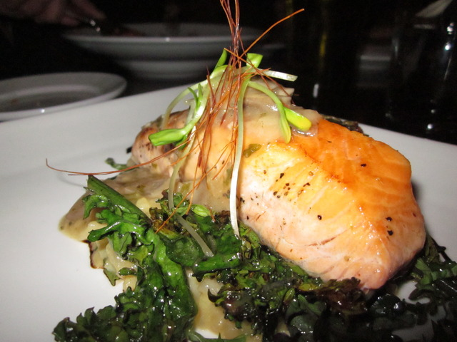 Salmon - Daily Special at Zucca Italian Restaurant