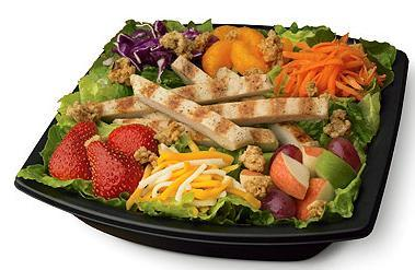 Chargrilled & Fruit Salad at Chick-fil-A