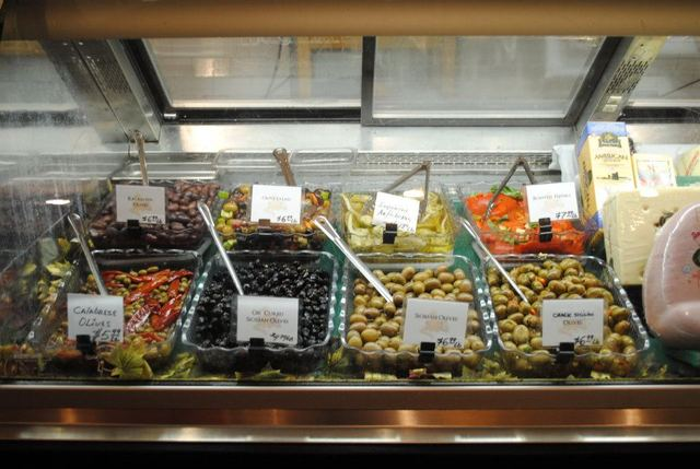 Olives at Palermo Salumeria