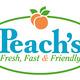 Peach's new logo - Logo at Peach's Restaurant