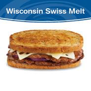 Wisconsin Swiss Melt at Culver's