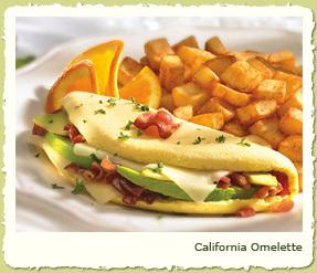 CALIFORNIA OMELETE at Coco's