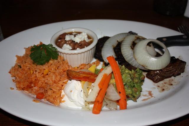 Carne Asada at Taleo Mexican Grill