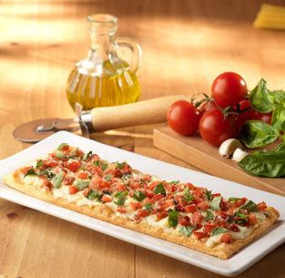 Caprese Flatbread at Olive Garden