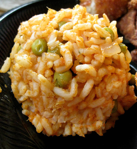 Rice Side Dish at Pollo Campero