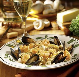 Seafood Portofino at Olive Garden