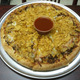 "Price range from $11.50 to $16.50 for 10"", 12"" and 16"" - Taco Pizza at Toula's House of Pizza"
