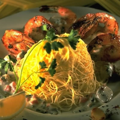 Shrimp Scampi at The Cheesecake Factory