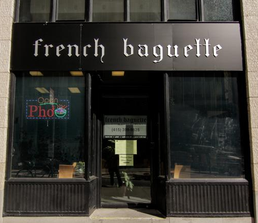Exterior at French Baguette