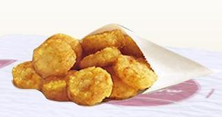 Hash Browns at Burger King