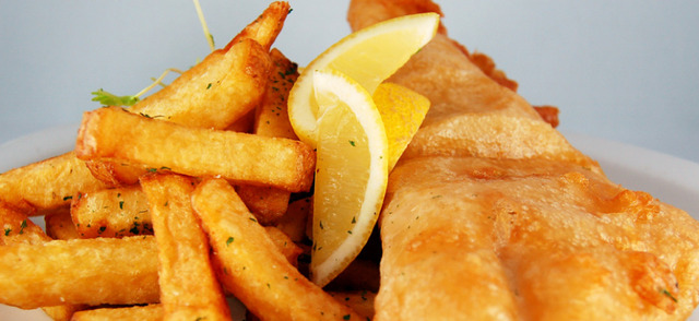 Fridays $10 fish&chip special - Fish & Chips at Dickens Pub