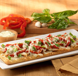 Grilled Chicken Flatbread at Olive Garden