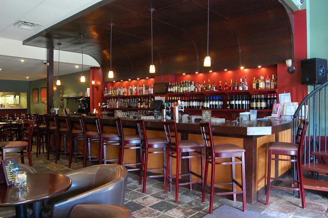 Interior at Rude Native Bistro & Lounge- Burlington