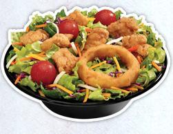 Jumbo Popcorn Chicken® Salad at Sonic