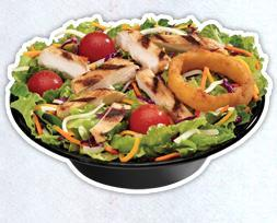 Grilled Chicken Salad at Sonic