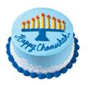 Chanukah Menorah Cake at Dunkin' Donuts/Baskin Robbins