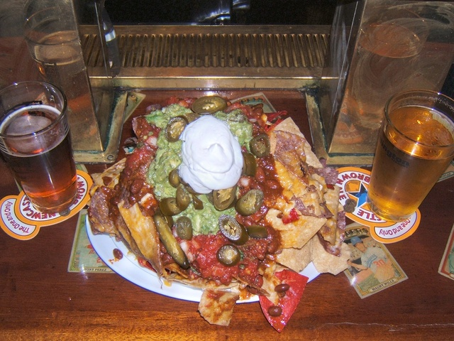 Mile High Nachos at Coolidge Corner Clubhouse