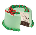 Evergreen Christmas Wreath Cake at Dunkin' Donuts/Baskin Robbins