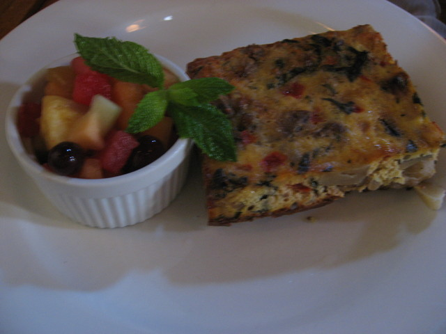 Frittata of the Day at Jane's