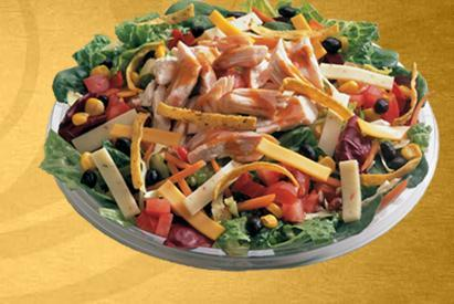 Chipotle Salad at Einstein Bros. Bagels