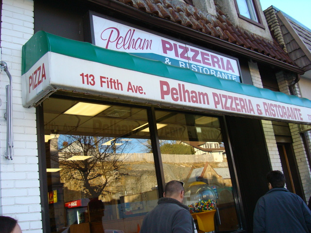 Exterior at Pelham Pizza