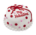 Valentine Bow Cake at Dunkin' Donuts/Baskin Robbins
