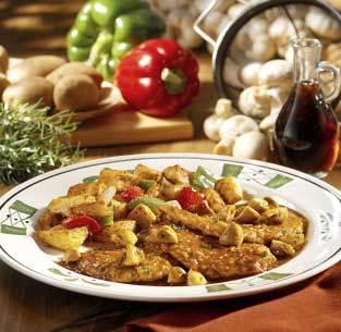 Chicken Marsala at Olive Garden