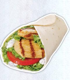 Grilled Chicken Wrap at Sonic